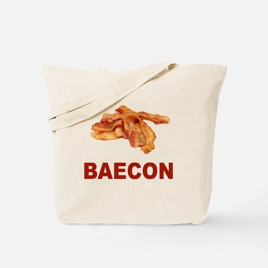 Baecon Bacon Tote Bag