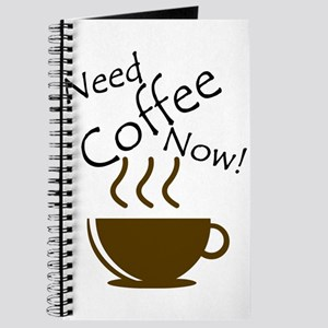 Need Coffee Now! Journal