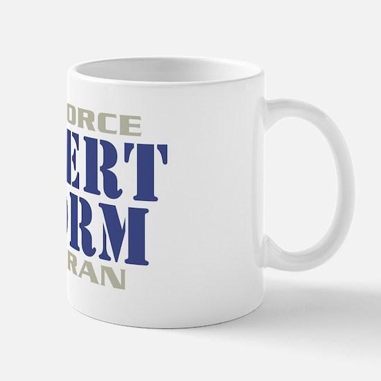 DESERT STORM AIR FORCE VETERAN Mug