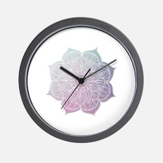 Unique Exercise Wall Clock