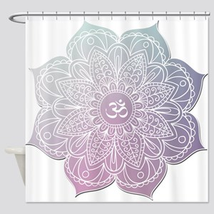 yoga Shower Curtain