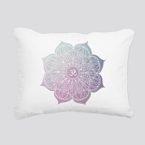 yoga Rectangular Canvas Pillow