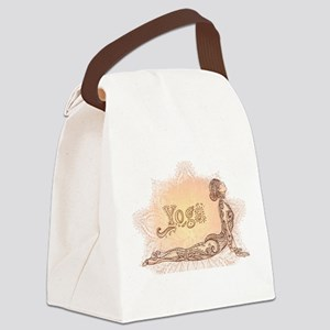 yoga Canvas Lunch Bag