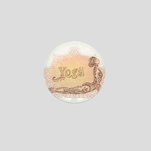 yoga Mini Button