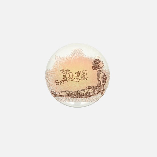 yoga Mini Button
