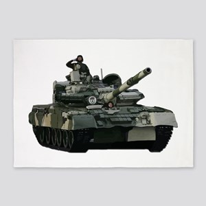 tank 5'x7'Area Rug