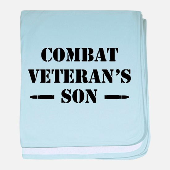 Combat Vet's Son baby blanket