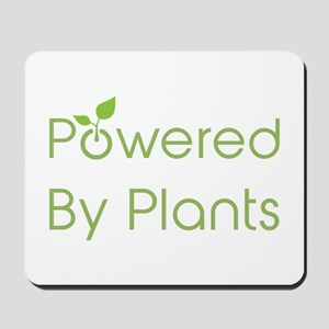 Powered By Plants Mousepad