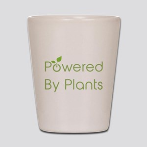 Powered By Plants Shot Glass