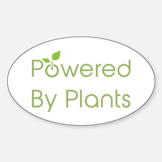 Powered By Plants Decal