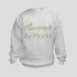Powered By Plants Kids Sweatshirt