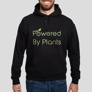 Powered By Plants Hoodie (dark)