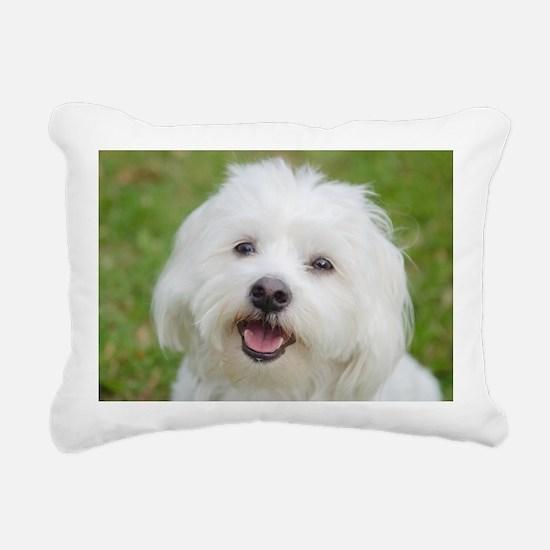 Cute Smile face Rectangular Canvas Pillow