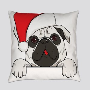 Christmas dog Everyday Pillow