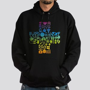 health cross Hoodie (dark)