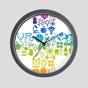 health cross Wall Clock
