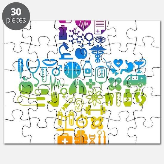 health cross Puzzle