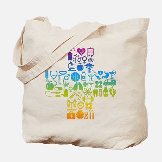 health cross Tote Bag