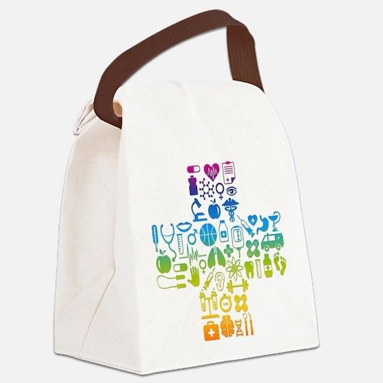 health cross Canvas Lunch Bag