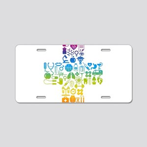 health cross Aluminum License Plate