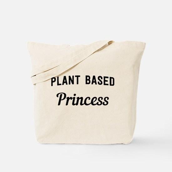 Plant based princess Tote Bag