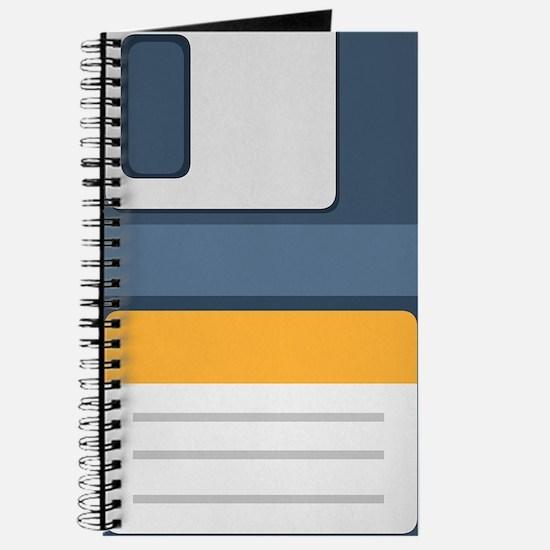 Old School Computer Floppy Diskette Journal