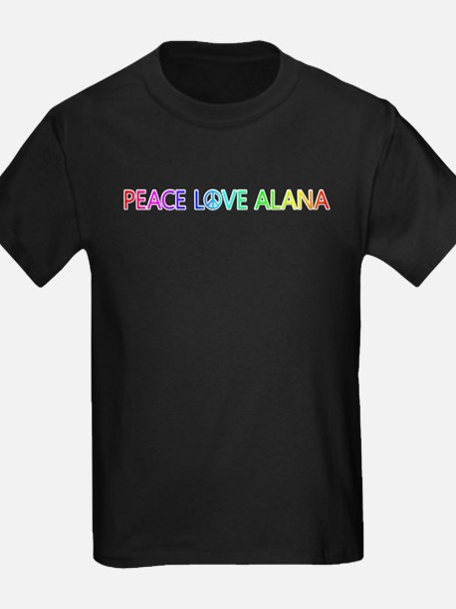 Peace Love Alana T-Shirt