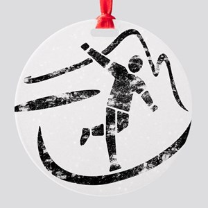 Disc Toss 2016 by TeeCreations Round Ornament