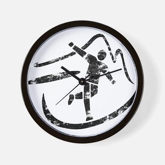 Disc Toss 2016 by TeeCreations Wall Clock