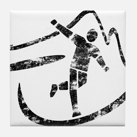 Disc Toss 2016 by TeeCreations Tile Coaster