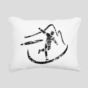Disc Toss 2016 by TeeCre Rectangular Canvas Pillow