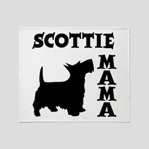 SCOTTIE MAMA Throw Blanket