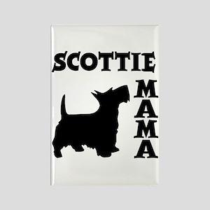 SCOTTIE MAMA Rectangle Magnet