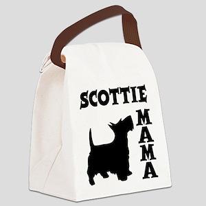 SCOTTIE MAMA Canvas Lunch Bag