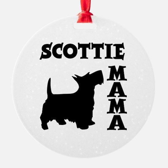 SCOTTIE MAMA Ornament