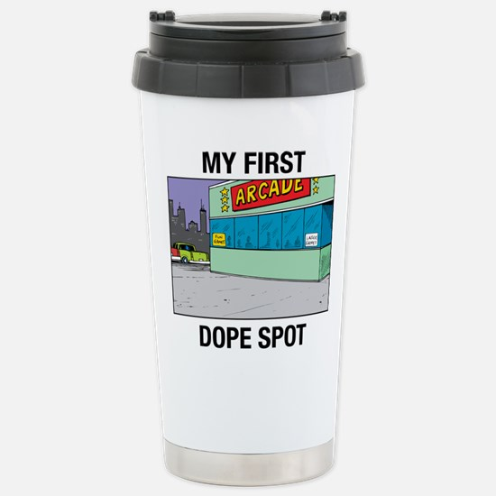 My First Dope Spot Stainless Steel Travel Mug