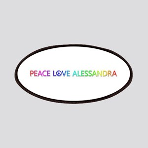 Peace Love Alessandra Patch