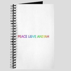 Peace Love Aniyah Journal