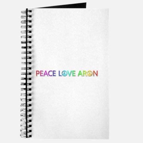 Peace Love Aron Journal