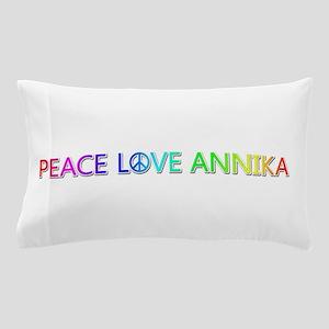 Peace Love Annika Pillow Case