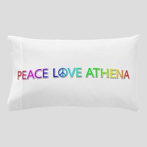 Peace Love Athena Pillow Case