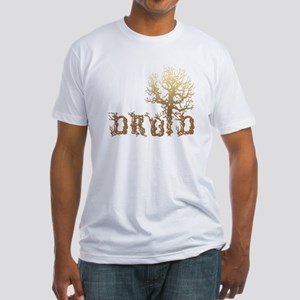 Druid Tree Fitted T-Shirt