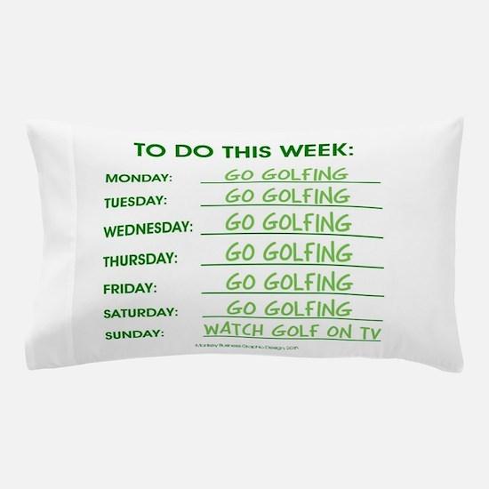 GO GOLFING Pillow Case