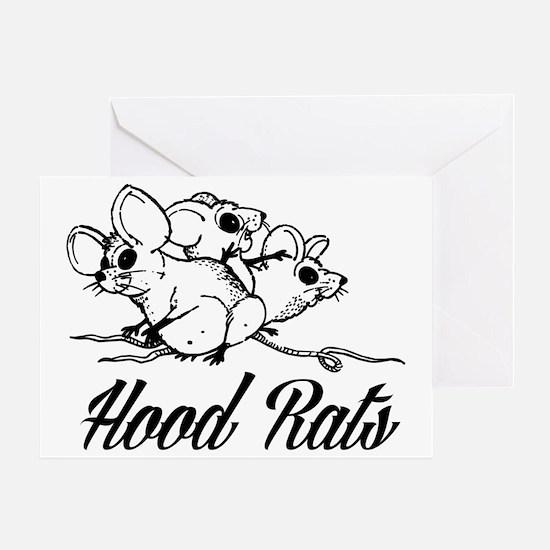 Unique Hoodrats Greeting Card