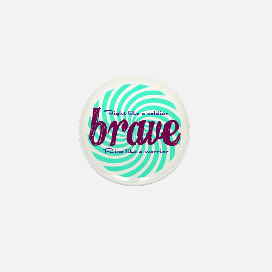 Brave Mini Button