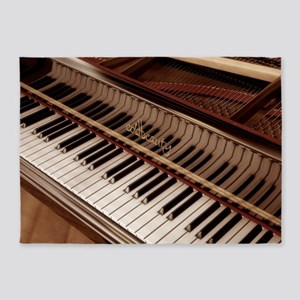 Piano 5'x7'Area Rug