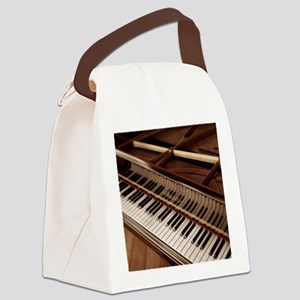 Piano Canvas Lunch Bag