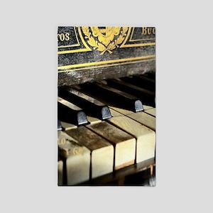 Vintage Piano Area Rug