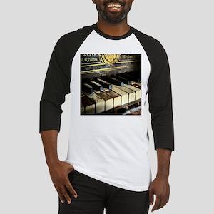 Vintage Piano Baseball Jersey