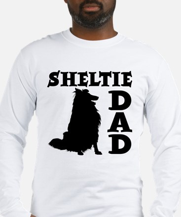 SHELTIE DAD Long Sleeve T-Shirt